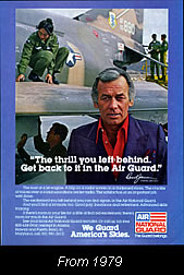 Janssen in the National Guard ad