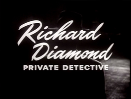 Richard Diamond title card